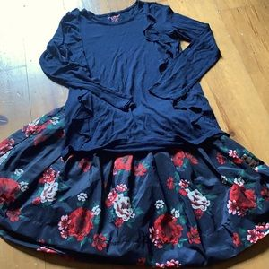 Beautiful flower skirt kit Joe Fresh size 10-12
